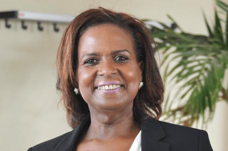 Marvelyne Wiels: 'Iedereen uitgenodigd voor opening Curaçaohuis'   Foto Bea Moedt