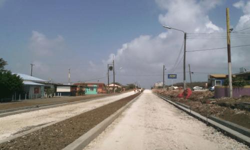 Weg bij Tera Kòrá eerder klaar | Foto Persbureau Curacao
