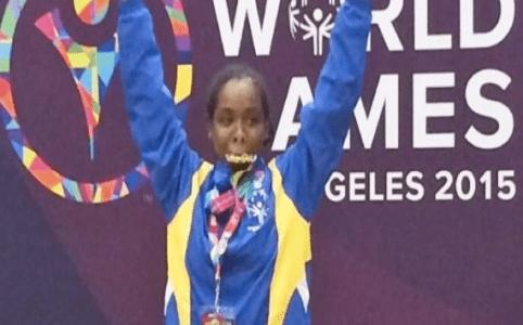 Zwemgoud op Special Olympics