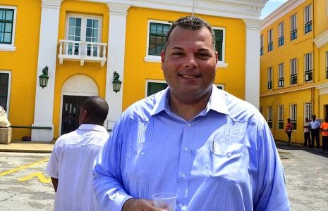 Ivar Asjes in betere tijden | Persbureau Curacao