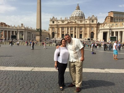Ex Premier Ivar en Tara Asjes-Prins ook in het Vaticaan