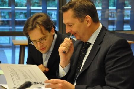 Ronald van Raak (SP) en Andre Bosman (VVD)