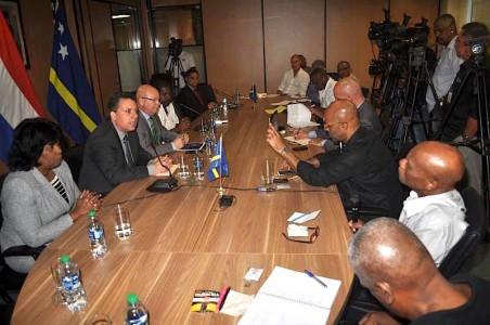 Foto: persconferentie ministerraad / Jeu Olimpio
