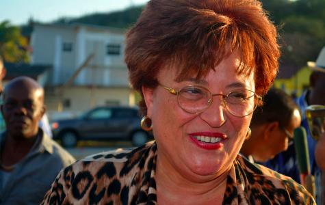 Minister Suzy Römer  Onderzoek moet komen naar aanbod in vervoerssector en naar waar vraag naar is | Foto Persbureau Curacao