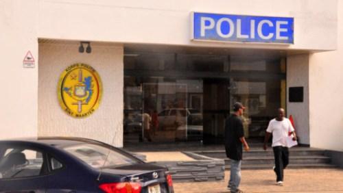 Het Bureau Korps Politie Sint Maarten (KPSM) | Foto Persbureau Curacao