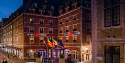 Hotel Amigo in Brussel, gevestigd in een voormalige gevangenis