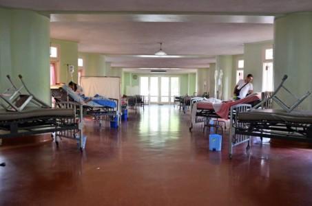 Universitair Ziekenhuis van Caracas. (Foto: Ramiro Múnera)