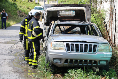 MP Emmanuel vehicle torched by arsonists | Daily herald