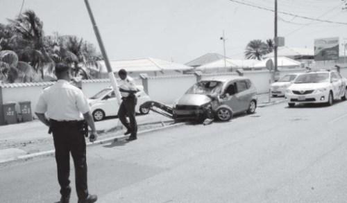 Drie gewonden bij ongeval Rooseveltweg