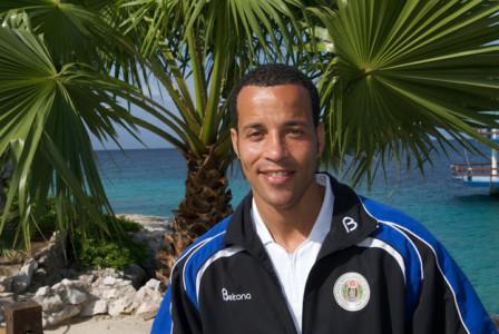 Remco Bicentini voorlopig bondscoach van het Curaçaose elftal.