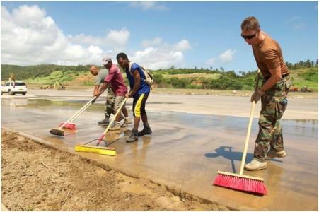 Defensie in Caribisch Gebied gereed voor noodhulp