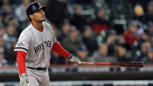 ogaerts en Jansen in All-Star Game | Photo by Matt Stone
