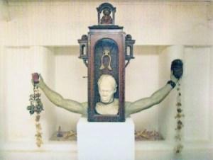 Felix de Rooy (1952), 'Markanan di Alma', mixed media, 1998 &pipe