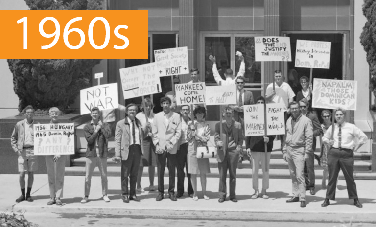 Tell Us How UC It: History of Student Activism Timeline 1960s