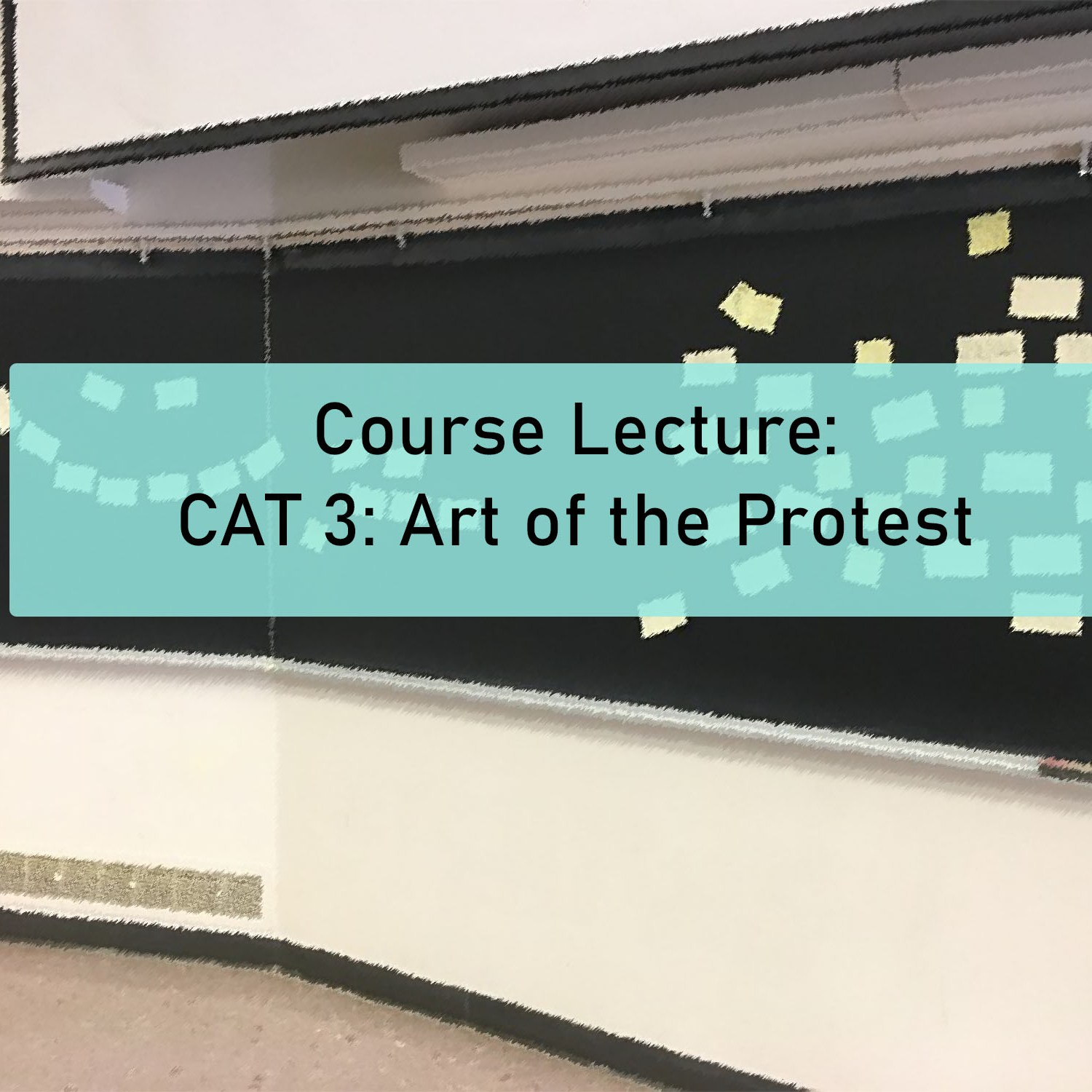 Course Lecture: CAT 3: Art of the Protest