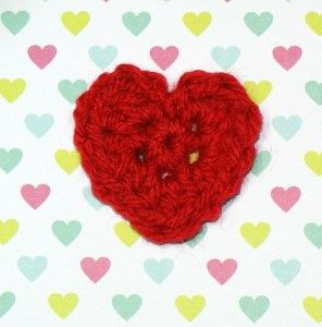 heart applique