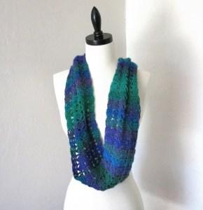 Wear it like a scarf.
