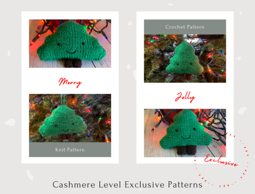 Tree Amigurumi Ornaments