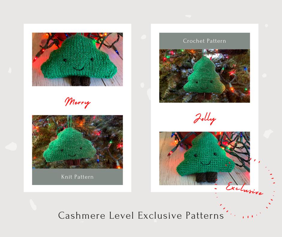 Tree Amigurumi Ornaments