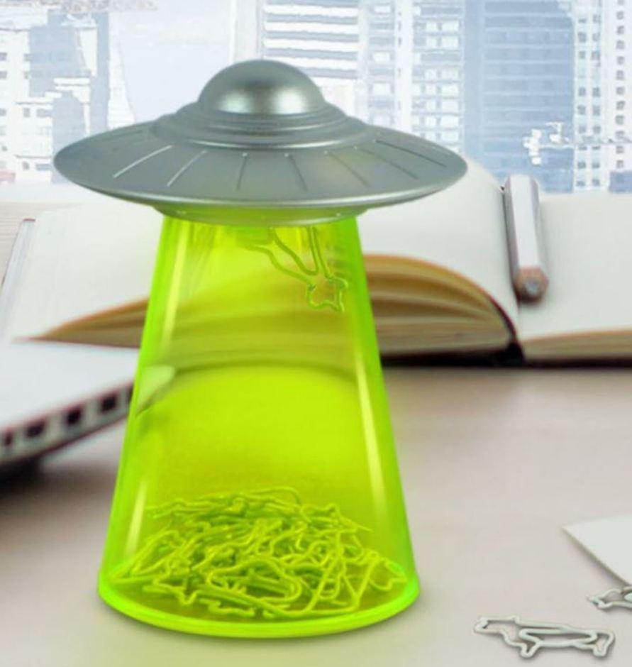 UFO Paper Clip Holder