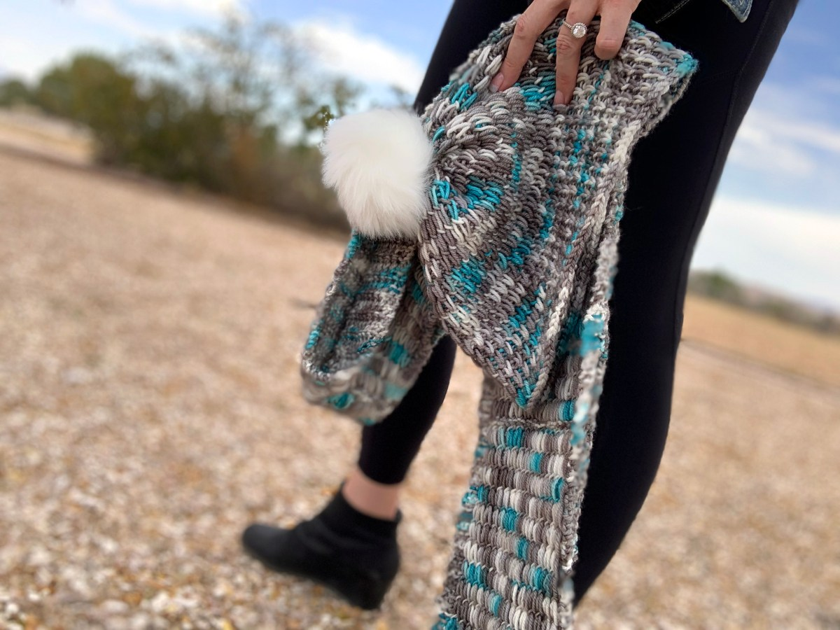 Knit Beanie and Scarf Pattern