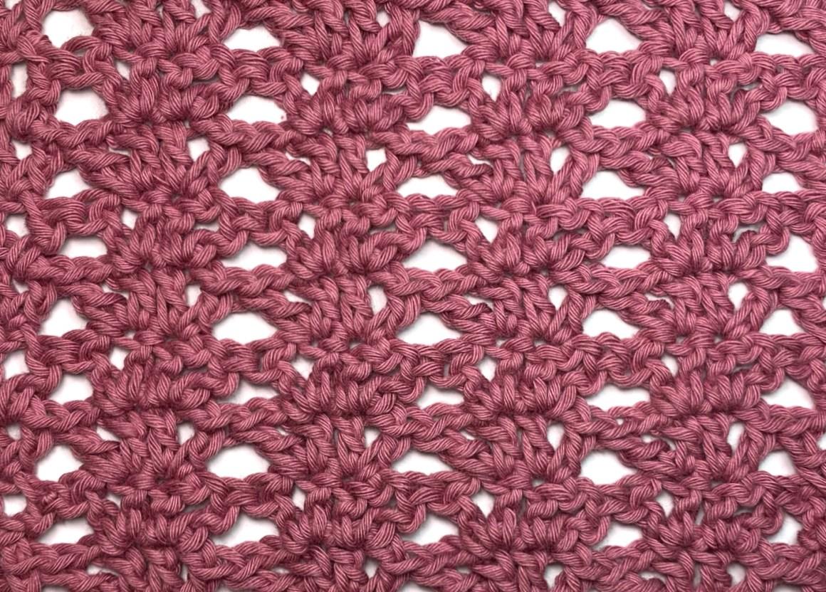 Fine Fans Crochet Stitch