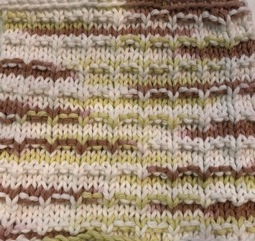 Check Pattern Washcloth