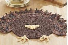 Snowflake & Turkey Placemat Patterns