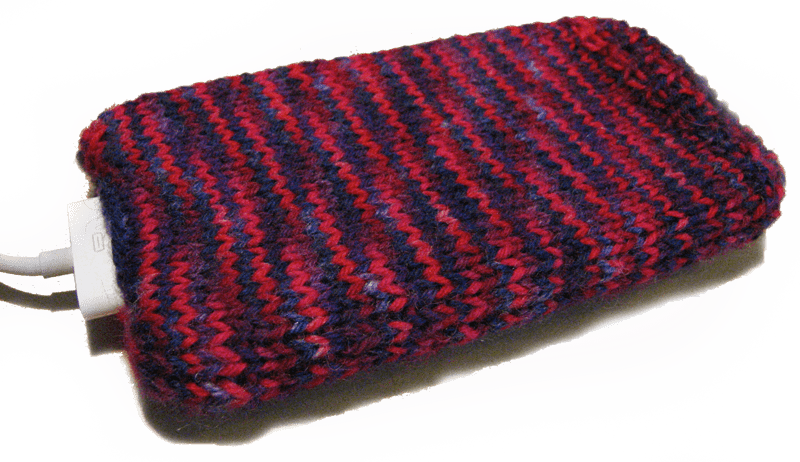 Free Knit Iphone Cozy Pattern For Leftover Sock Yarn Knitfreedom