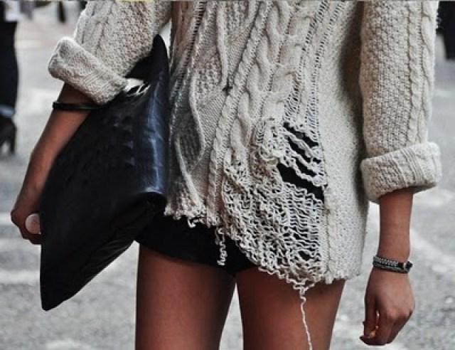 knitGrandeur: Frayed