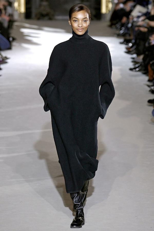 knitGrandeur: Silhouette- Long but  Not Always Lean