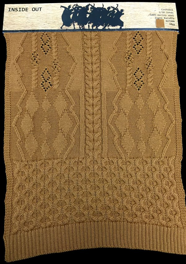 knitGrandeur: FIT & Baruffa Collaboration: Linear Stitch Design Project, featuring Baruffa Cashwool