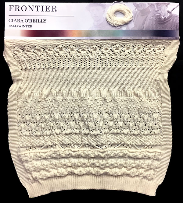 knitGrandeur: FIT & Baruffa Collaboration 2017: Linear Stitch Design Project Featuring Cashwool