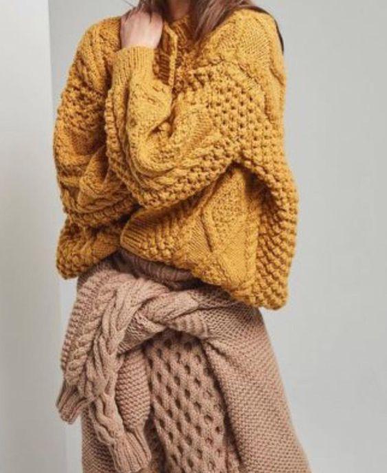 knitGrandeur: Mustard Yellow