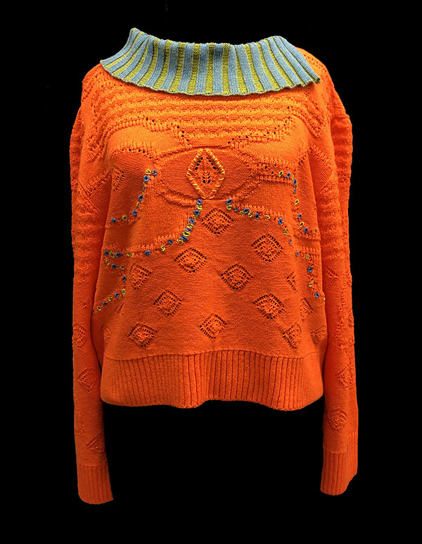 knitGrandeur: Designer: Elinor Vizard - FIT & Biagioli Modesto Collaboration 2018: Term Garment Project Featuring Cash 30