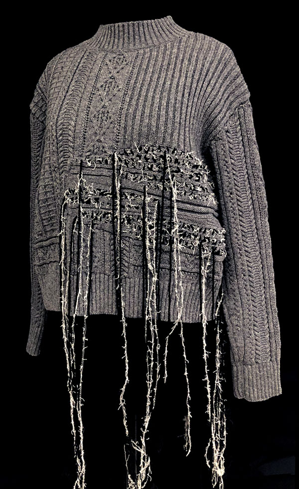 knitGrandeur: Designer: Imdo Lee- FIT & Biagioli Modesto Collaboration 2018: Term Garment Project Featuring Cash 30