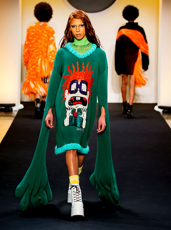Designer: Aldrian Diaz- knitGrandeur: FIT The Future of Fashion 2019, Knitwear