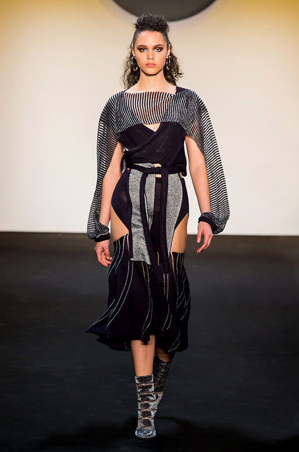 Designer: Jesse Doherty- knitGrandeur: FIT The Future of Fashion 2019, Knitwear