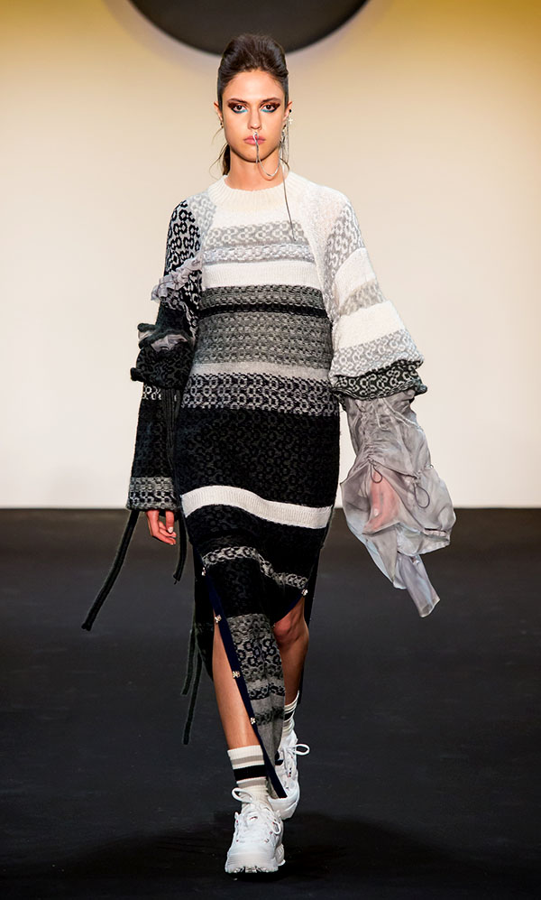 Designer: Juhee Ryu- knitGrandeur: FIT The Future of Fashion 2019, Knitwear