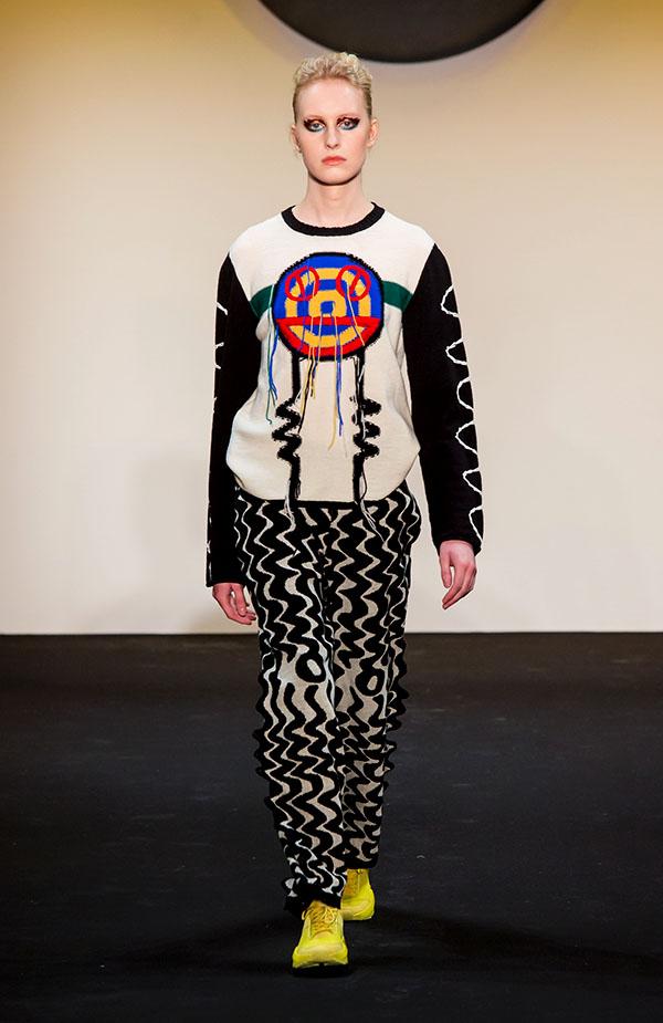 Designer: Juliana Castaneda- knitGrandeur: FIT The Future of Fashion 2019, Knitwear