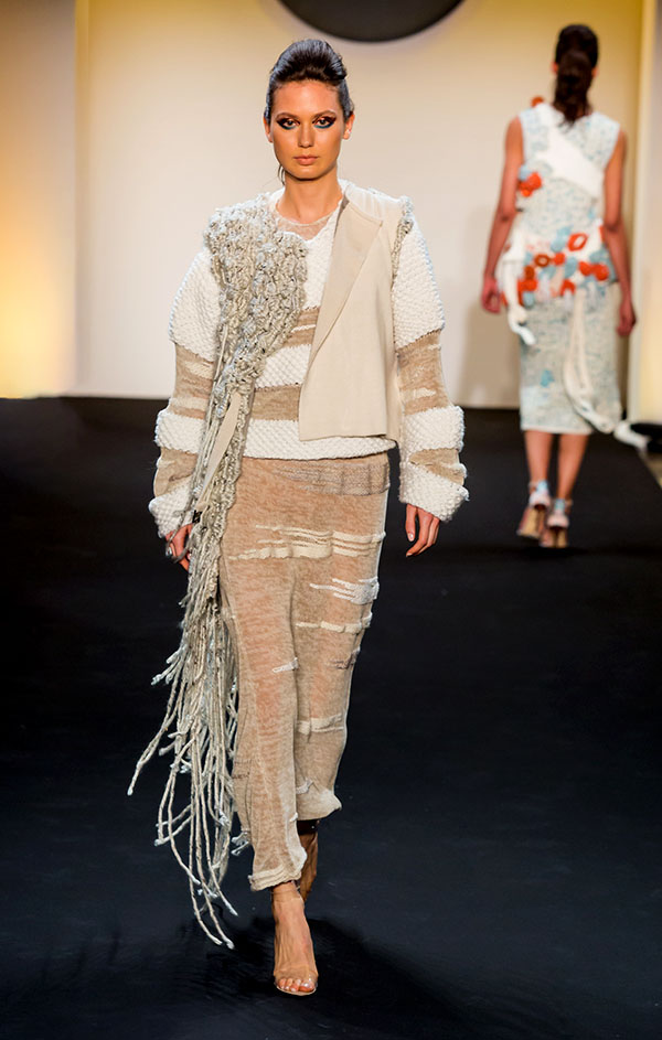 Designer: Lucy Zhang- knitGrandeur: FIT The Future of Fashion 2019, Knitwear
