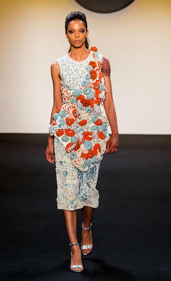 Designer: Rachel Cheang- knitGrandeur: FIT The Future of Fashion 2019, Knitwear