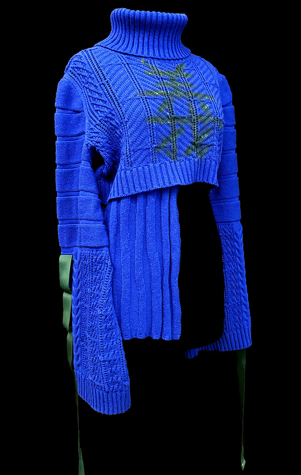 knitGrandeur: Designer: Qin Nan Li-FIT & Biagioli Modesto Collaboration 2019: Term Garment Project Featuring Cash 30