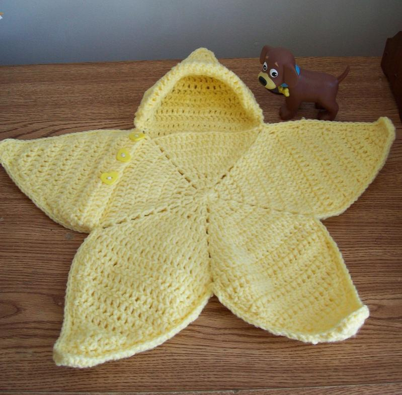 Star Shaped Baby Wrap Pattern