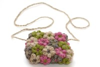 Crochet a Cute Flower Bag  Free Pattern, Smart