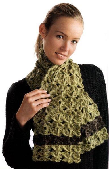 Тёплый шарф