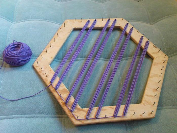 Салфетка на рамке