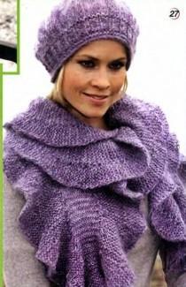 шарф и берет