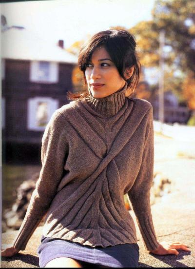Пуловер Architectural Rib Pullover!