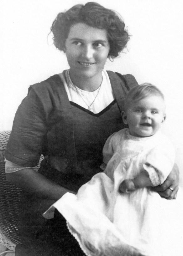 Theresa and baby Ruth